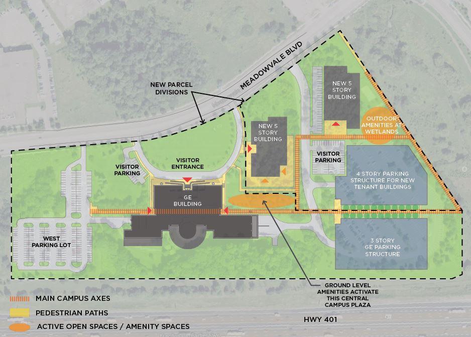 GE Campus buildout